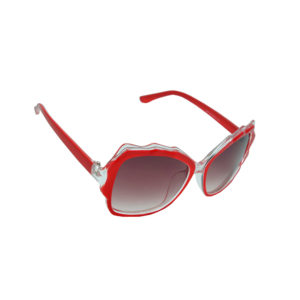 Ainak Red Cat-eye Sunglasses