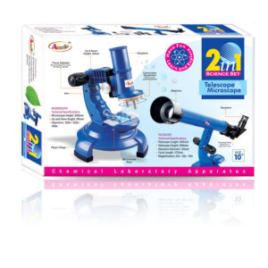 Annie 2 in 1 Science Set (Telescope & Microscope)