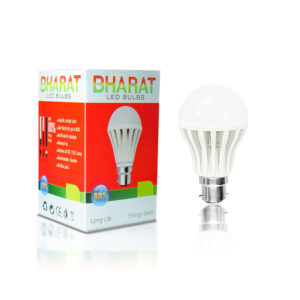 Bharat 7 Watt Led Bulb (Cool Day Light) Pack of 10