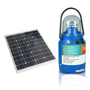 Yellow Star Solar Lantern