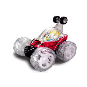 Remote Control Rechargeable Stunt Car with Lights & Music