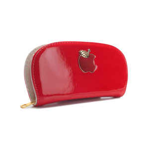 Apple Women Red Wallet