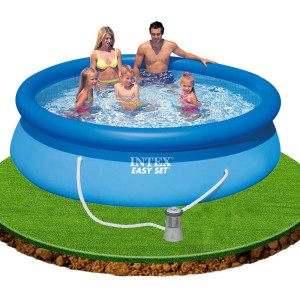 Intex 8FT EasySet Pool With Filter 28110E
