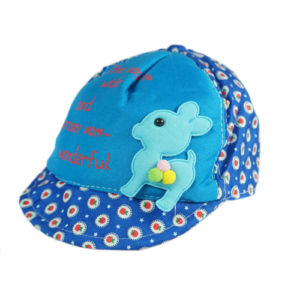 kidz blue cute cap