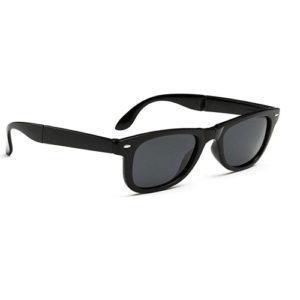 Kidz Folding Hobo Sunglasses Black