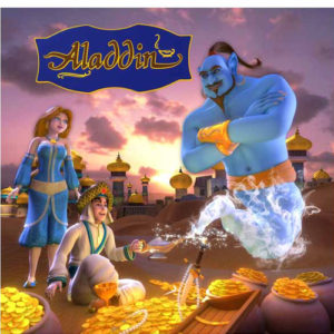 Alladin 3D Book With 3D Glasses