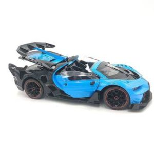 Rechargeable 1:12 Scale Modified Bugatti Style RC Car With Fully Function Doors & Dicky ( (Assorted Color)