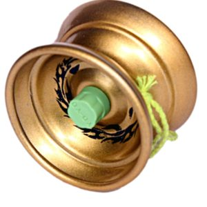 Blazing Speed Glossy Metal Toy Yoyo