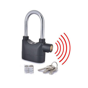Anti Theft Motion Sensor Alarm Lock For Home,Office And Bikes