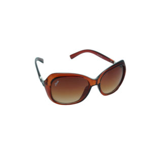 Ainak Brown Oval Sunglasses